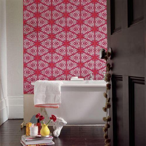 kırmızı desenli duvar kağıt yeni tasarım duvar kağıt desenleri ve renkleri