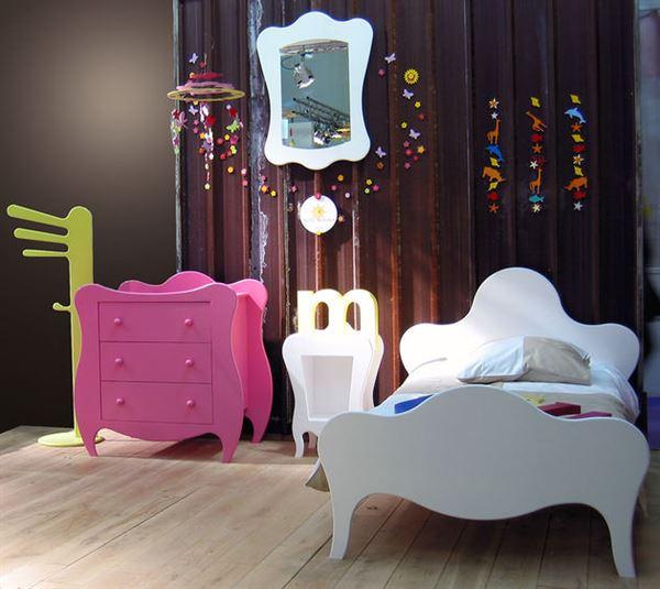 Çocuk Odası Geometrik Mobilya Modelleri