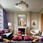 mor ve lila renkli oda renk dekorasyonları - pembe renkle oda kontrasti 150x150 - Mor ve Lila Renkli Oda Renk Dekorasyonları