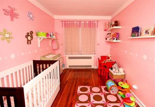 Pembe Renk Oda Dekorasyon Örnekleri 7