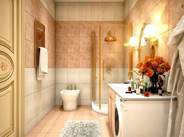 Ultra Lüks Dekorasyonlu Banyo Örnekleri 11