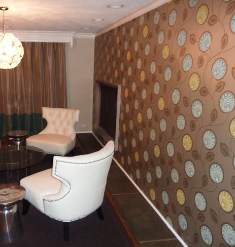 puantiyeli desenli duvar kağıt yeni tasarım duvar kağıt desenleri ve renkleri