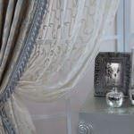 salon perdesi tasarım modelleri - puskullu dekoratif salon perdesi 150x150 - Salon Perdesi Tasarım Modelleri