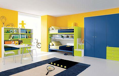 renkli ranzalar fonksiyonel renkli ranzalı genç odaları