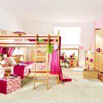 Şirin Kız Çocuk Odası Mobilya Modeli 10