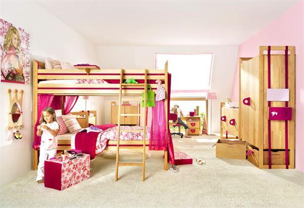 Şirin Kız Çocuk Odası Mobilya Modeli 20