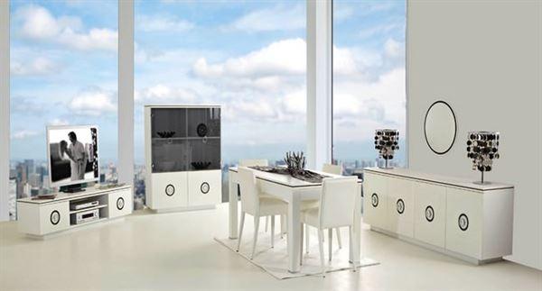 Rapsodi Mobilya Dekoratif Yemek Odası Modelleri rapsodi mobilya dekoratif yemek odası modelleri - rapsodi caprise beyaz yemek odasi - Rapsodi Mobilya Dekoratif Yemek Odası Modelleri