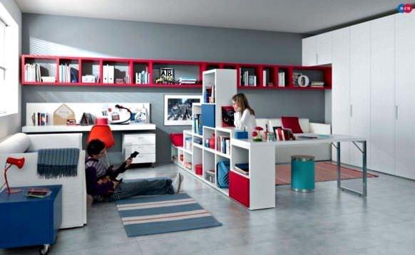 Ergenliğe Girmiş Çocuklarınız İçin Oda Dekorasyon Fikirleri 20