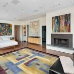 Modern Renkli Salon ve Oturma Odası Stilleri 9