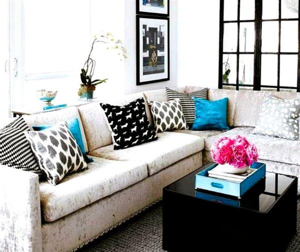 Dekoratif Modern Renkli Koltuk Kırlent Yastıklar 1