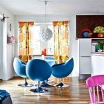 Renklerin Kombinasyonuyla Daire Dekorasyonu 4