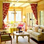 Renkli Oturma Odası Dekorasyon Fikirleri 3