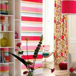 Çizgili Duvar Kağıdı Modelleri Ve Renkleri 3