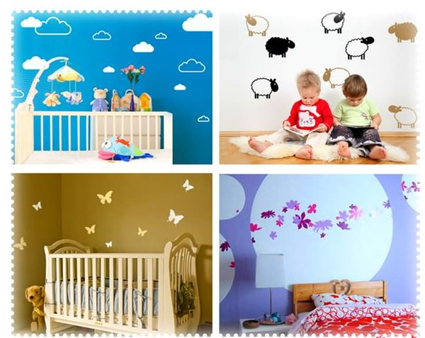 Çocuk Odasına Renkli Eğlenceli Dekorasyon Stilleri 7