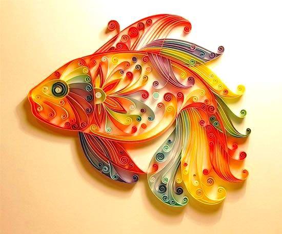 Renkli Kâğıtlarla 3D Süsleme Modelleri 17