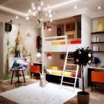 Çocuk Odasına Renkli Eğlenceli Dekorasyon Stilleri 6
