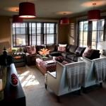 oturma odası dekorasyon fikirleri - renkli kahve borda krem dekorasyon 150x150 - Oturma Odası Dekorasyon Fikirleri