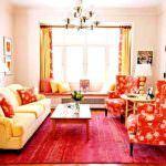 Renkli Oturma Odası Dekorasyon Fikirleri 2