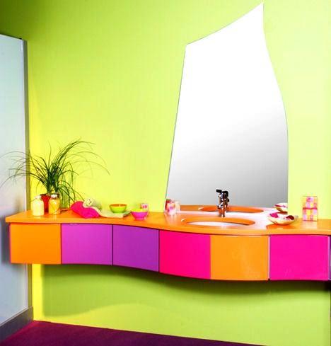 İlginç Farklı Banyo Lavabo Tasarımları 13