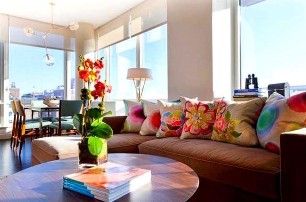 Dekoratif Modern Renkli Koltuk Kırlent Yastıklar 8