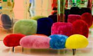 Renkli Peluş Kanepeler