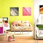 Renkli Yaza Özel Oturma Odası Dekorasyon Fikirleri 7