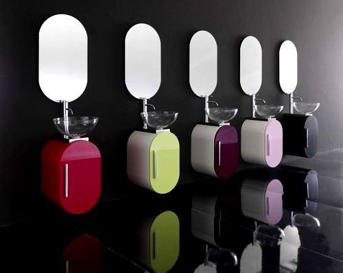 Modern Dekoratif 2012 Banyo Lavabo Modelleri 2