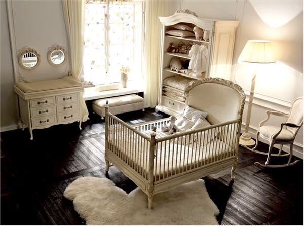 sevimli bebek odası dekorasyon fikirleri - retro bebek odasi dekorasyonu - Sevimli Bebek Odası Dekorasyon Fikirleri