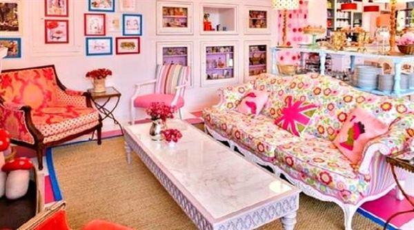 retro-salon-dekorasyon-modeli dekorasyon stilleri ve tarzları nasıldır - retro salon dekorasyon modeli