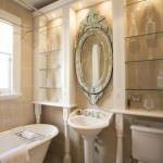 küvetli banyo dekorasyon modelleri - retro tarzi banyo dekorasyon 150x150 - Küvetli Banyo Dekorasyon Modelleri