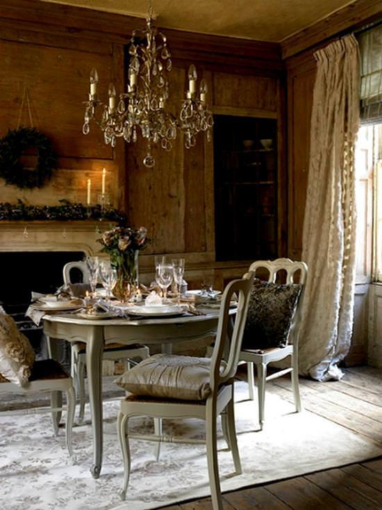 Romantik Renkli Yemek Odası Fikirleri 3