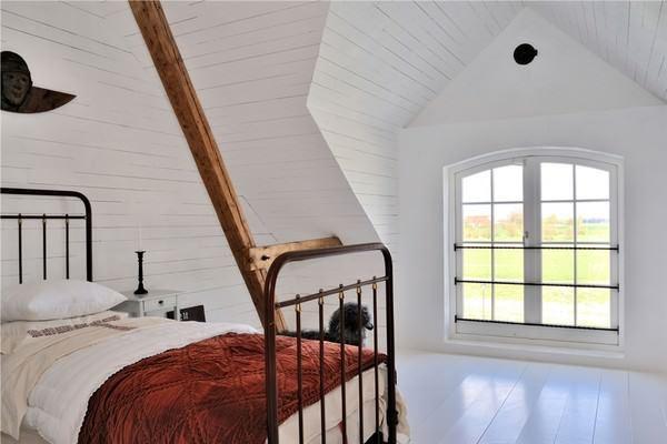 Büyük Beyaz Rustik Ev Dekorasyonu 13