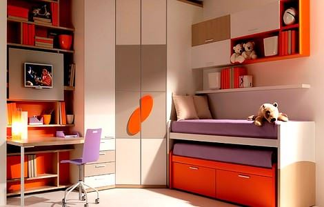 Çocuk Odası Dekorasyon Ve Mobilya Fikirleri 22