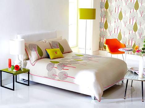 dekoratif yatak örtüleri