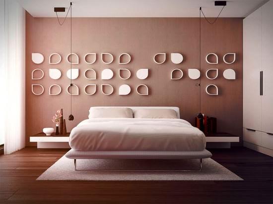 süslenmeiş yatak odaları