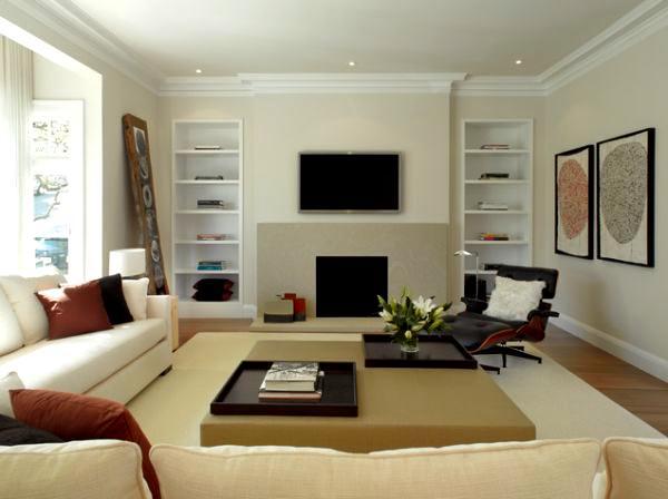 Modern Dekoratif Oturma Odası Dekorasyon Fikirleri 8