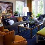 Renkli BoConcept Oturma Odası Dekorasyon Fikirleri