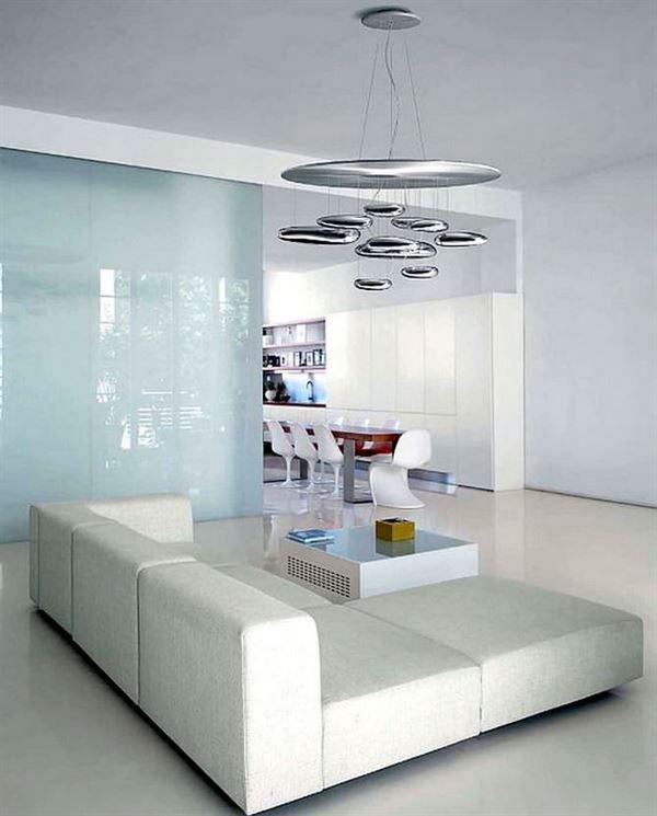 Salon Oturma Odası Sarkıt Avize Modelleri 10