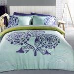 sarev dekoratif renkli desenli nevresim takımları - sarev nevresim beyaz desenli takimi 150x150