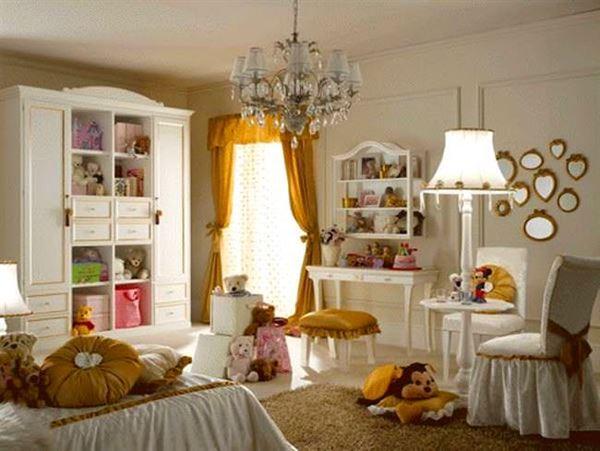 Kız Çocuk Odası Mobilyaları Ve Dekorasyonları 9