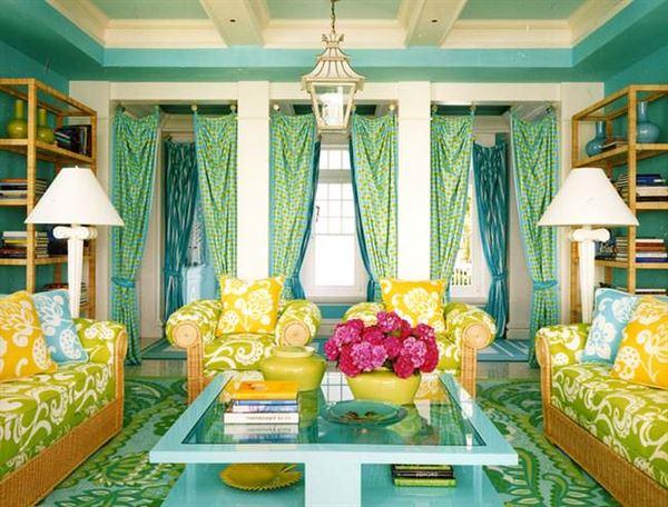 oturma odası dekoratif renkler
