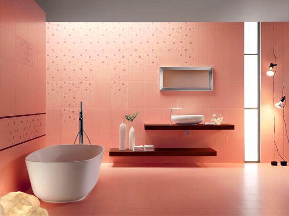 Pembe Renk Oda Dekorasyon Örnekleri 16