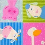 Sevimli Bebek Odası Halı Örnekleri 8