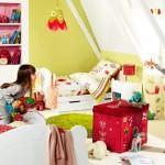 Çocuk Odasına Renkli Eğlenceli Dekorasyon Stilleri 9