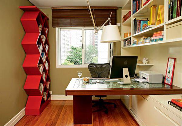 Ev Çalışma Odası Dekorasyon Fikirleri 7