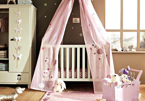 sevimli bebek odası dekorasyon fikirleri - sevimli kiz bebek odasi - Sevimli Bebek Odası Dekorasyon Fikirleri