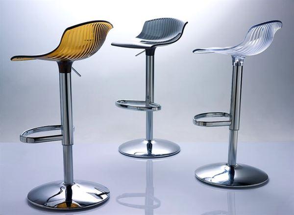 şeffaf bar sandalyesi