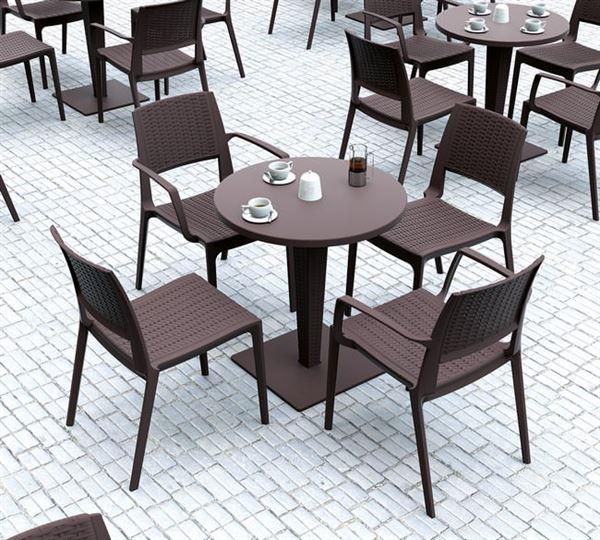 plastik kafe masa sandalye