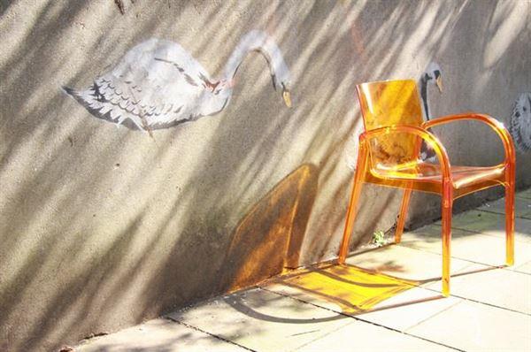 şaffaf sandalye