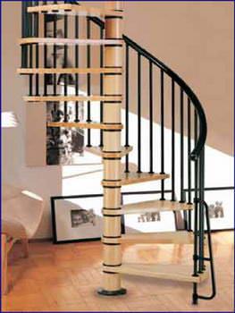 Oval Dubleks Daire Merdivenleri 8